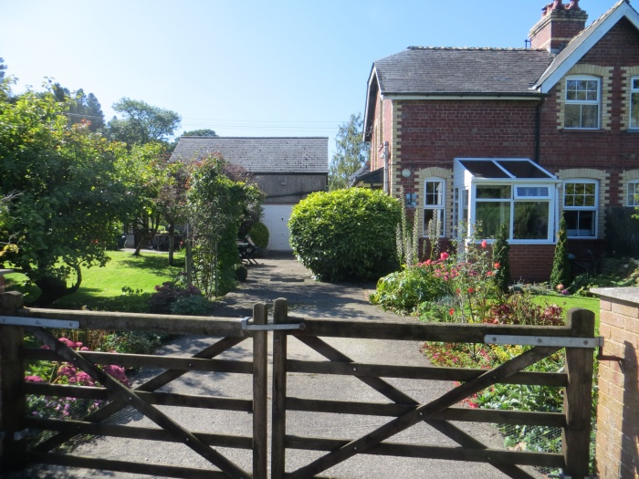 Country cottage in Montgomeryshire